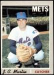 1970 Topps #488  J.C. Martin  Front Thumbnail
