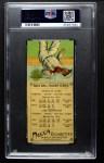 1911 T201 Mecca  Ty Cobb / Sam Crawford  Back Thumbnail