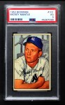 1952 Bowman #101  Mickey Mantle  Front Thumbnail