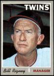 1970 Topps #426  Bill Rigney  Front Thumbnail