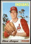 1970 Topps #136  Steve Hargan  Front Thumbnail