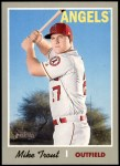 2019 Topps Heritage #485 A Mike Trout  Front Thumbnail