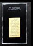 1909 E95 Philadelphia Caramel  Tommy Leach  Back Thumbnail
