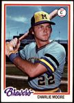 1978 Topps #51  Charlie Moore  Front Thumbnail