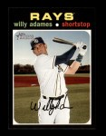 2020 Topps Heritage #289  Willy Adames  Front Thumbnail