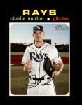 2020 Topps Heritage #498  Charlie Morton  Front Thumbnail