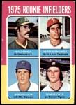 1975 Topps #623   -  Keith Hernandez / Phil Garner / Bob Sheldon / Tom Veryzer Rookie Infielders   Front Thumbnail