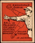 1935 Schutter-Johnson #13  George Earnshaw  Front Thumbnail