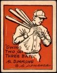 1935 Schutter-Johnson #1  Al Simmons  Front Thumbnail