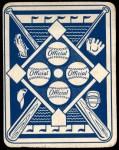 1951 Topps Blue Back #12  Sam Jethroe  Back Thumbnail
