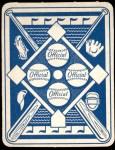 1951 Topps Blue Back #24  Sherm Lollar  Back Thumbnail