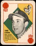 1951 Topps Red Back #47  Tommy Glaviano  Front Thumbnail