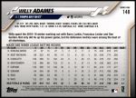 2020 Topps #148  Willy Adames  Back Thumbnail