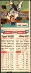1955 Topps DoubleHeader #47 / 48 -  Spook Jacobs / Johnny Gray  Back Thumbnail