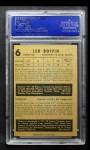 1953 Parkhurst #6  Leo Boivin  Back Thumbnail