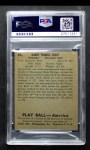 1939 Play Ball #65  Harry Craft  Back Thumbnail