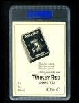 1911 T3 Turkey Red #94  George Gibson   Back Thumbnail