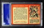 1953 Topps Tarzan Savage Fury #37   The Witchdoctor Back Thumbnail