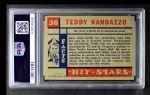 1957 Topps Hit Stars #36  Teddy Randazzo  Back Thumbnail