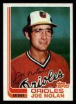 1982 Topps Traded #81 T Joe Nolan  Front Thumbnail