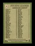 2020 Topps Heritage #69   -  Eduardo Rodriguez / Justin Verlander / Gerrit Cole League Leader Back Thumbnail