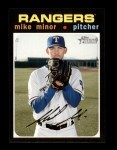 2020 Topps Heritage #284  Mike Minor  Front Thumbnail