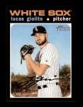 2020 Topps Heritage #416  Lucas Giolito  Front Thumbnail