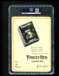 1911 T3 Turkey Red #87  Eddie Collins   Back Thumbnail