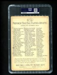1911 T3 Turkey Red #18  Hughie Jennings   Back Thumbnail