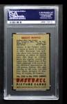 1951 Bowman #253  Mickey Mantle  Back Thumbnail
