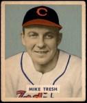 1949 Bowman #166  Mike Tresh  Front Thumbnail