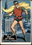 1966 Topps Batman Black Bat #2   Robin - Boy Wonder Front Thumbnail