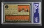 1962 Topps #562  Bill Henry  Back Thumbnail