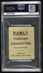 1909 T204 Ramly  John Hummel  Back Thumbnail
