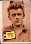 1957 Topps Hit Stars #71  James Dean  Front Thumbnail