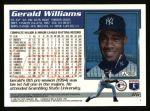 1995 Topps #86  Gerald Williams  Back Thumbnail