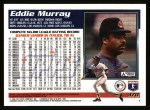 1995 Topps #370  Eddie Murray  Back Thumbnail
