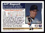 1995 Topps #405  Jeff Bagwell  Back Thumbnail