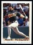1995 Topps #472  Mark McGwire  Front Thumbnail