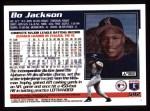 1995 Topps #592  Bo Jackson  Back Thumbnail
