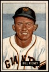 1951 Bowman #125  Bill Rigney  Front Thumbnail