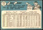 1965 Topps #575  Jose Pagan  Back Thumbnail