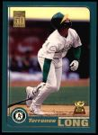 2001 Topps #278  Terrence Long  Front Thumbnail