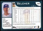 2001 Topps #484  Tim Belcher  Back Thumbnail