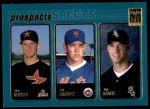 2001 Topps #727   -  Roy Oswalt / Pat Strange / Jon Rauch Prospects Front Thumbnail