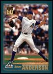 2001 Topps #112  Brian Anderson  Front Thumbnail