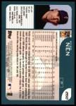 2001 Topps #260  Robb Nen  Back Thumbnail