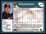 2001 Topps #533  Jimmy Anderson  Back Thumbnail
