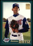 2001 Topps #722  Ramon Ortiz  Front Thumbnail