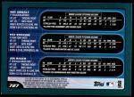2001 Topps #727   -  Roy Oswalt / Pat Strange / Jon Rauch Prospects Back Thumbnail
